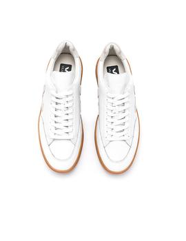 Zapatillas Veja V-12  Piel White Natural Gum Sole