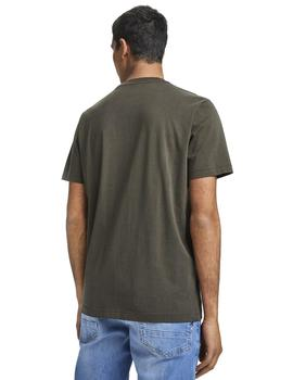 Camiseta Scotch - Soda Cotton Tee Verde Khaki