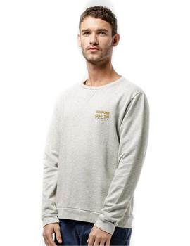 Sudadera Edmmond Studios La Vie Simple Fishing Gris
