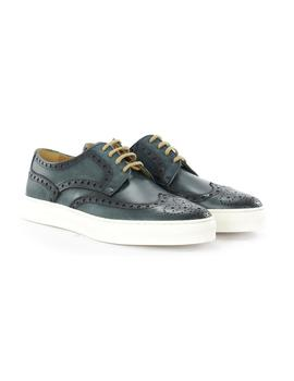 Zapato Calce Oxford Azul