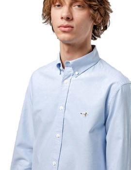 Camisa Edmmond Studios Duck Oxford Azul
