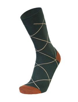 Calcetines Westmister Squares Dark Green