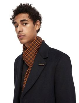 Abrigo Scotch - Soda Classic Wool-Blend Overcoat Marino