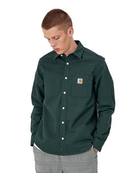 Camisa Carhartt Wip Tony Shirt Canvas Verde