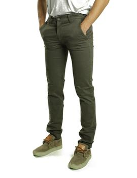 Pantalón Fifty Four Gosse Chino Verde Kakhi