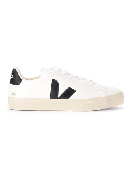 Zapatillas Veja Campo Chromefree Extra White Black
