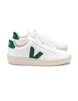 Zapatillas Veja V-12 Leather Extra White Cyprus