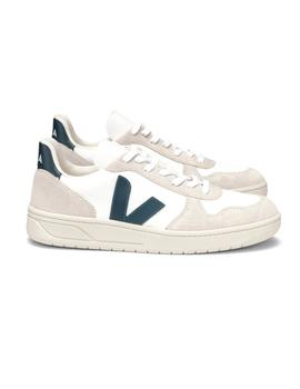 Zapatillas Veja V-10 B Mesh White Natural Nautico