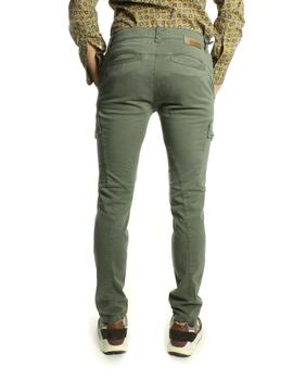 Pantalon Fifty Four Tweet Cargo Verde Militar