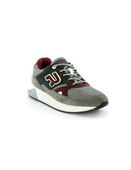 Zapatillas Replay Cunnager Gris Verde Granate